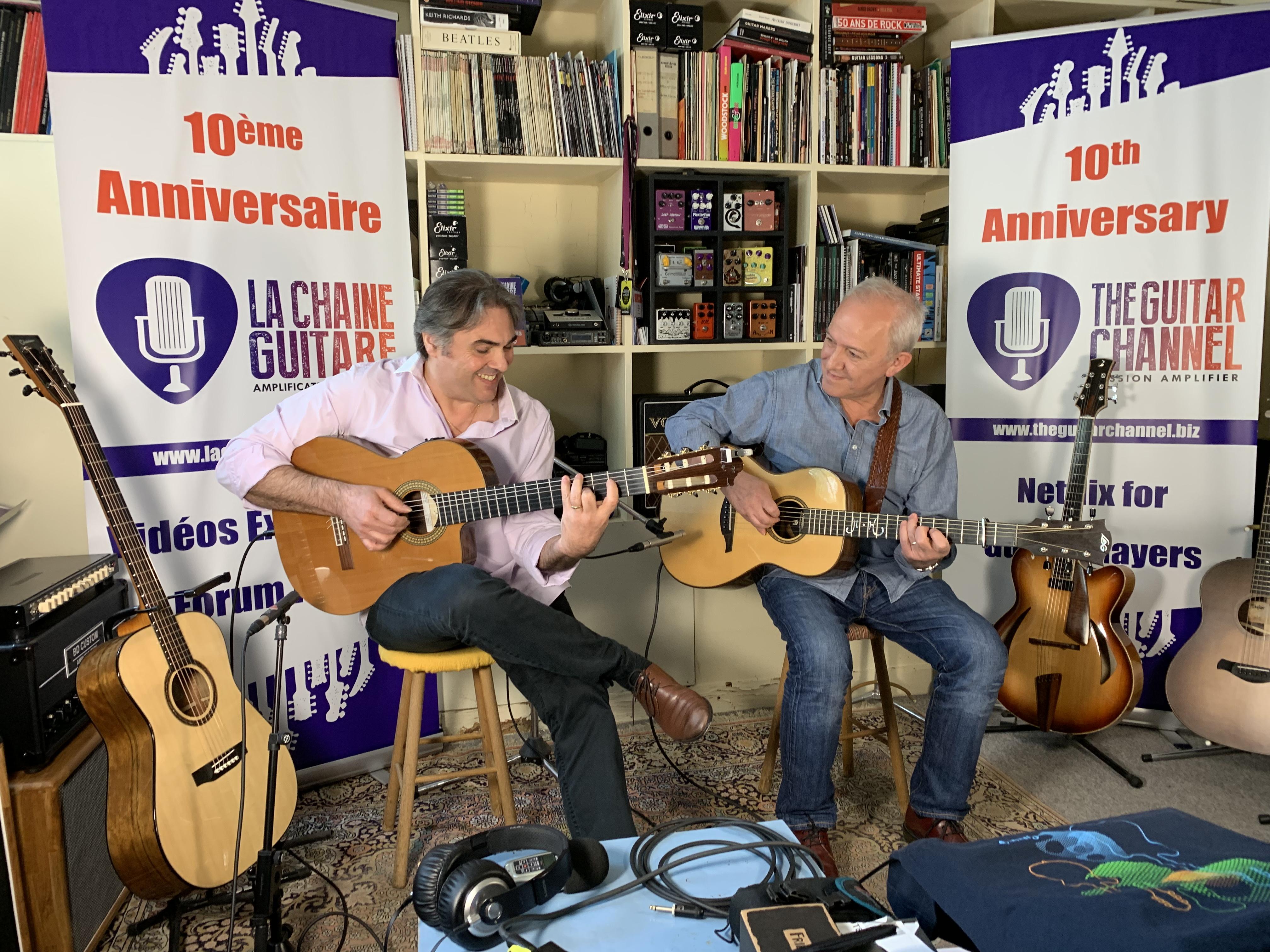 Interview Michel Haumont et Joël Gombert - Album Kaléidoscope