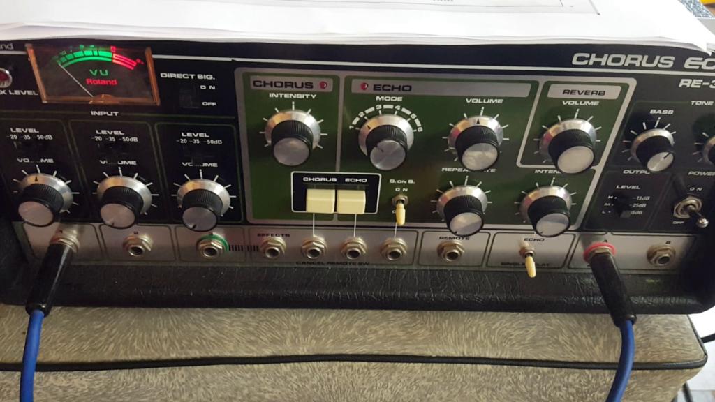 Roland RE301 Echo à bande, visite guidée et dépannage - Chronique de Philippe