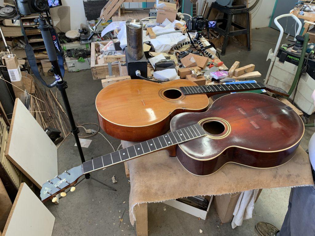 Guitares Gibson modèle L1 L3 - Chronique Lutherie Franck Cheval