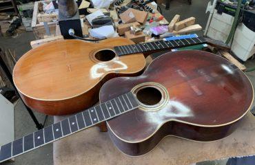 Guitares Gibson modèles L1 et L3 - Chronique Lutherie Franck Cheval