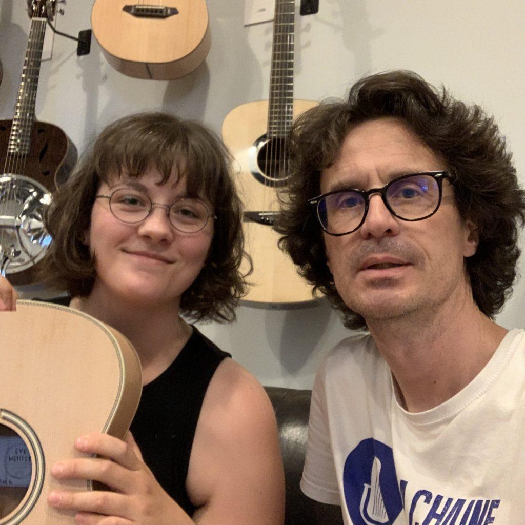 Interview de la luthière Eve Meister