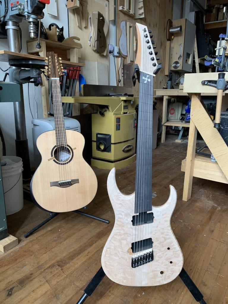 Interview luthier Maxime Baron, artisan talentueux en acoustique et en électrique