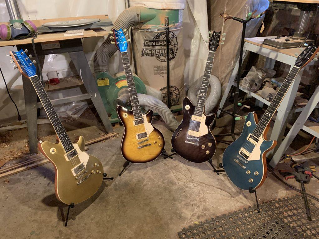 Visite chez le luthier Renaud Buffoni de Morifone Guitars - La Chaîne Guitare