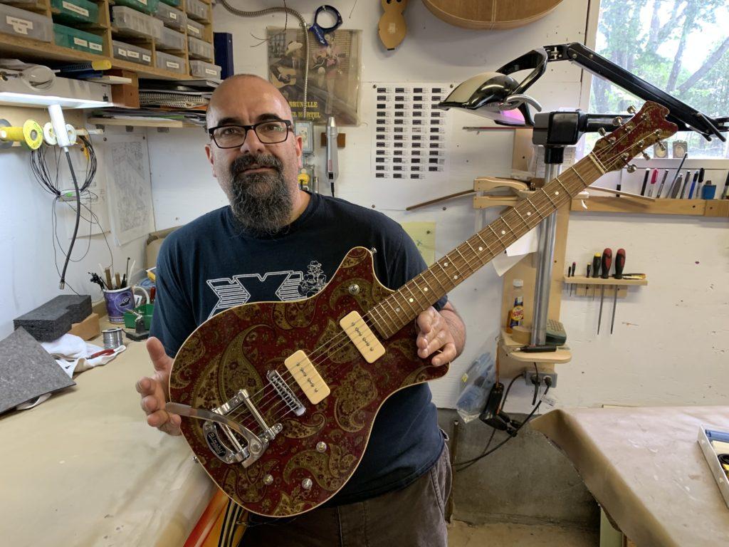 Marc Lupien - XXL Guitars - La Chaîne Guitare