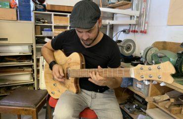 Interview Bruno Coulombe, le musicien derrière Bruno's Fine Guitars