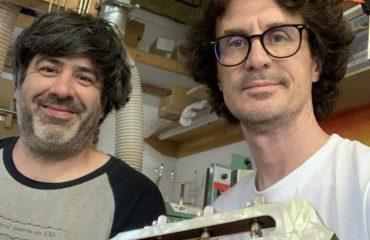 Interview luthier Vincent Latulippe à Beauharnois à côté de Montréal au Québec
