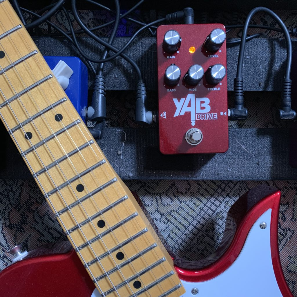 YAB Drive - Une pédale d'overdrive Made in France à large palette sonore