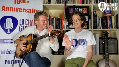 Replay Live 19/07/19 - Un passionné commande une guitare à Franck Cheval