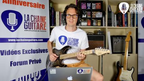 Replay Live 12/07/19 - Visite chez Furch Guitars / Festival de Jazz de Montréal