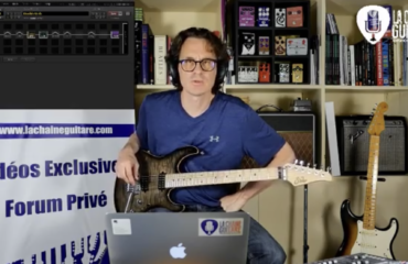 Test Fractal AX8 + Guitare Suhr M6 - Replay live Facebook / Twitch / YouTube