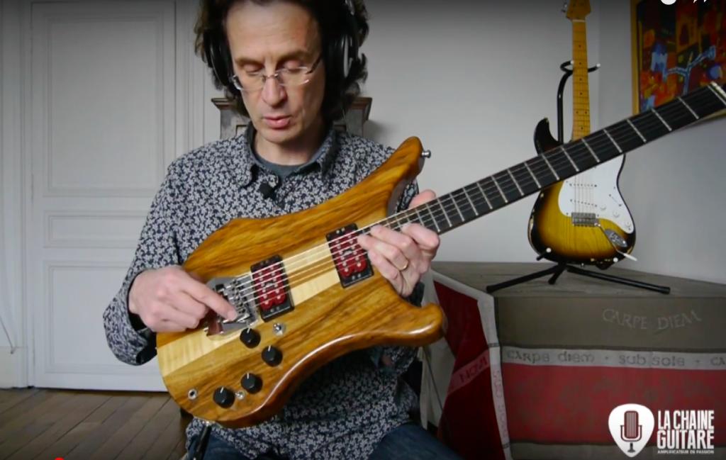 Vigier Arpège 1983, une guitare française hors du commun