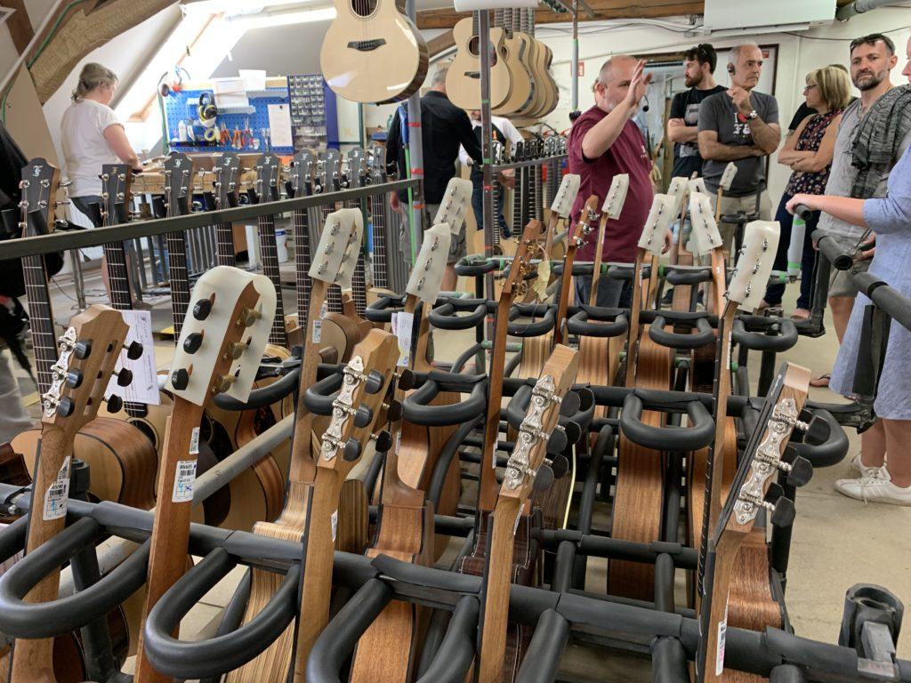 Visite manufacture Furch Guitars - République Tchèque - Partie 1/2