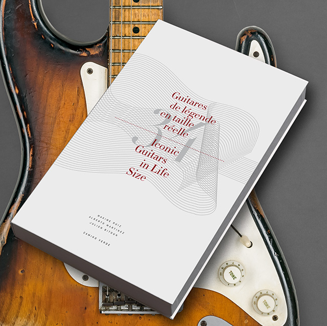 """""""34 Guitares de Légende en Taille Réelle"""", interview avec le photographe du livre Maxime Ruiz"""