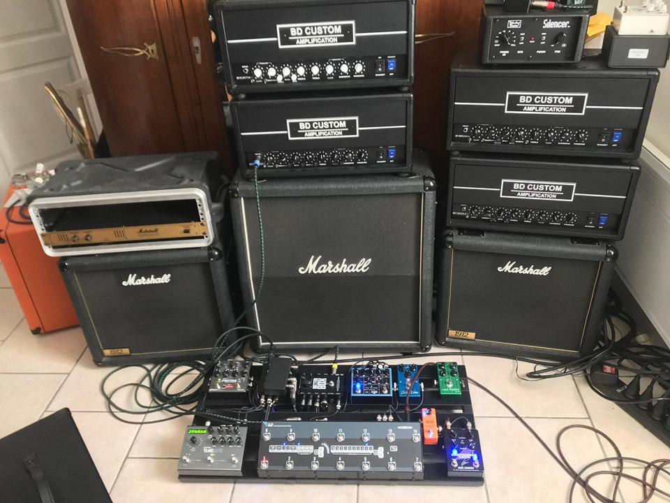 Soirée Matos 20/09/19 - Vola Guitar / BD Custom Amplification au Studio Luna Rossa