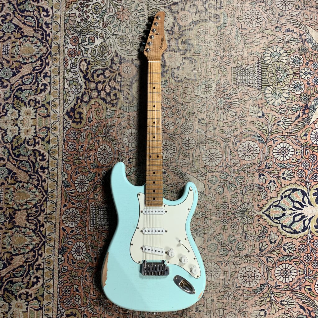 Test guitare Expérience Marceau et ampli à lampes BD Custom