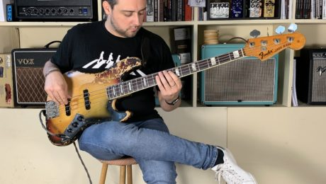 Interview basse à la main Romain Labaye, bassiste de Scott Henderson