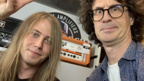 Interview Sammy Boller, démonstrateur Friedman et un album en préparation