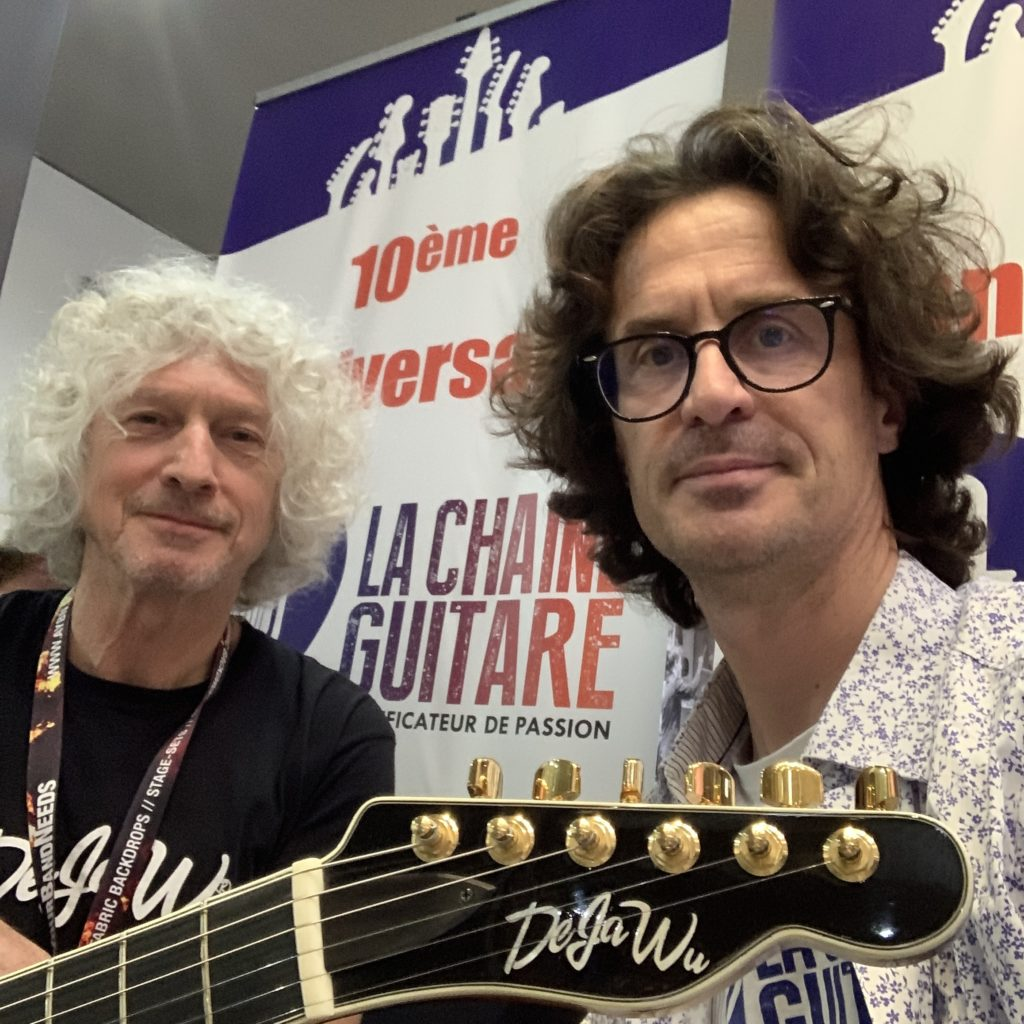 DejaWu Guitars au Guitar Summit 2019, interview avec Jan Derk