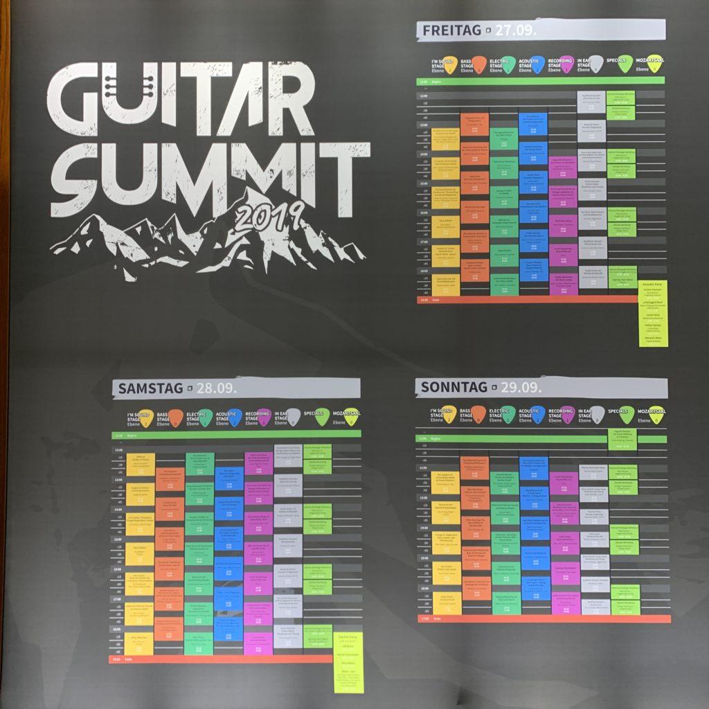 Guitar Summit 2019 - Jour 3 : dernière journée du salon !