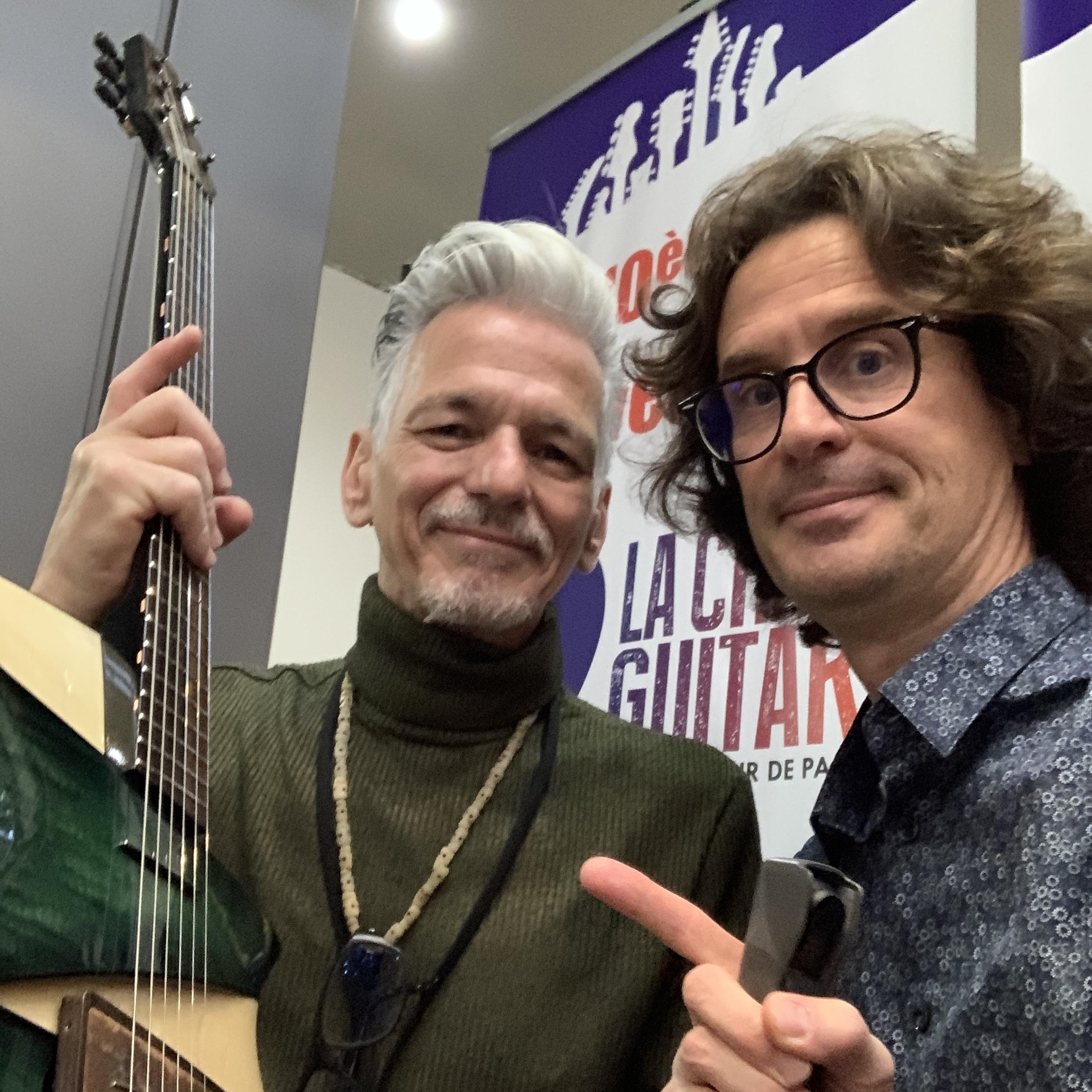 Interview luthier Claudio Pagelli - Génie Suisse de la lutherie avec sa femme Claudia
