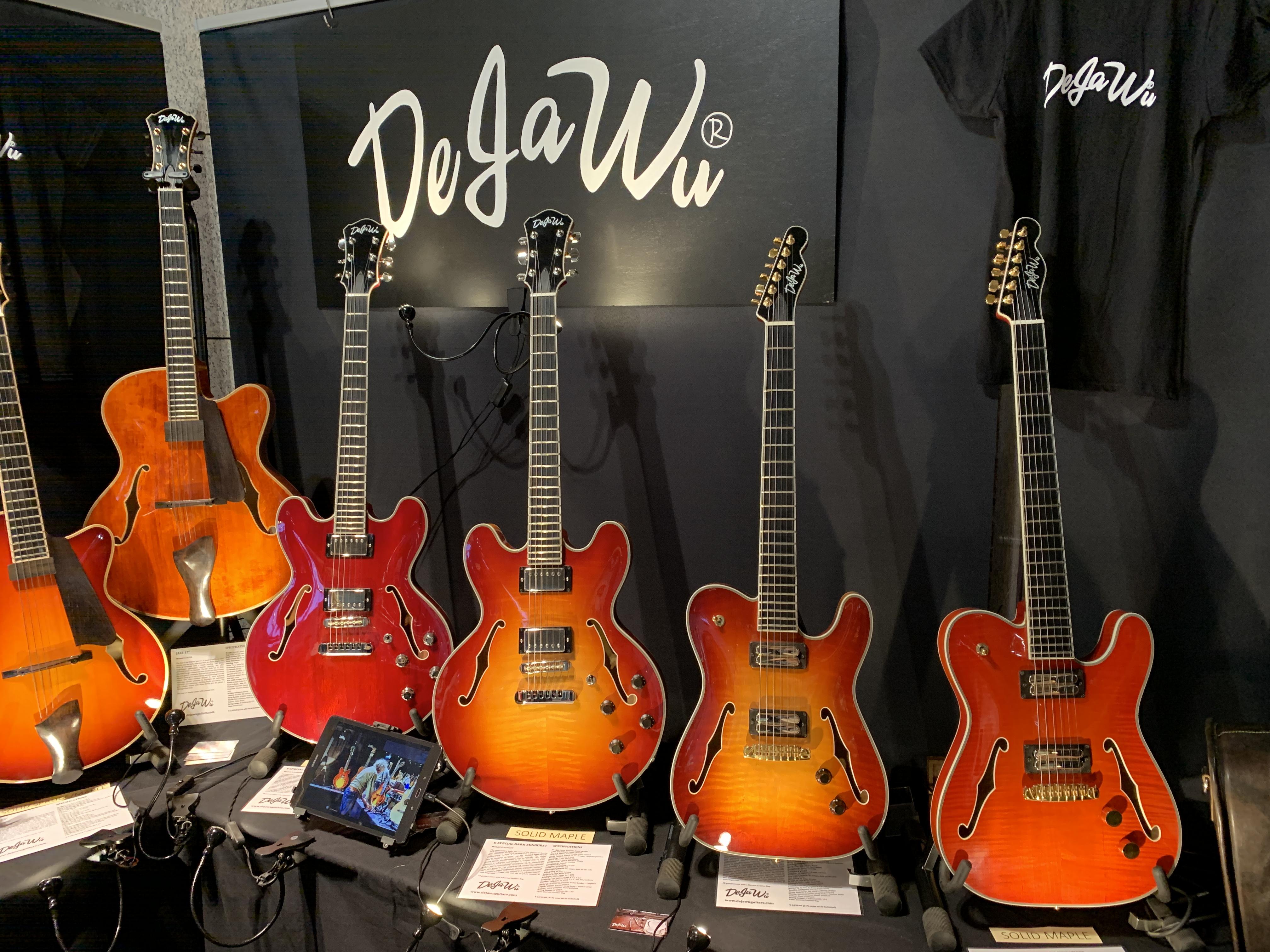 Guitar Summit 2019 - Jour 2 : des guitares, des guitares encore des guitares !