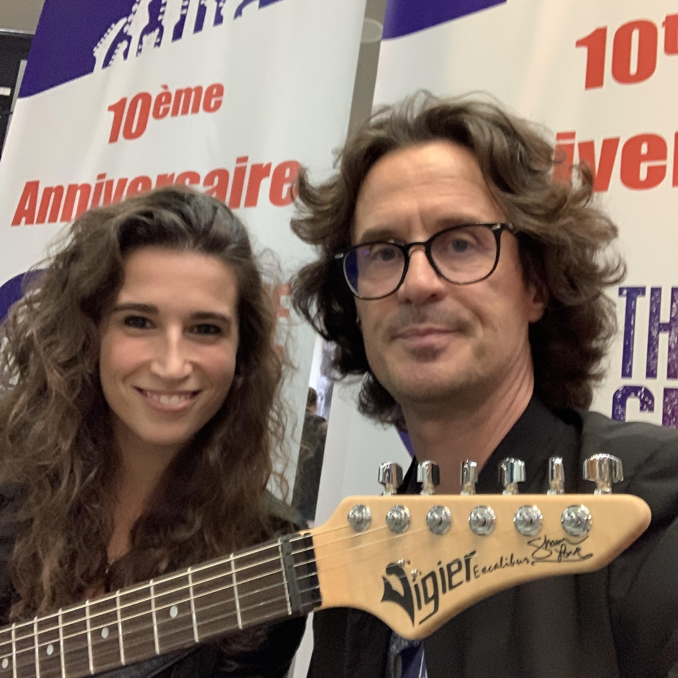 Interview Mia Vigier des guitares Vigier et High Tech Distribution au Guitar Summit 2019