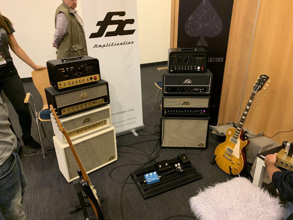 FX Amps, fabricant d'amplis français au Guitar Summit 2019 - Interview François-Xavier Defaut