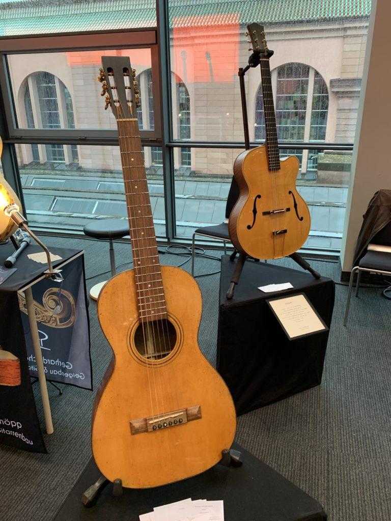 Interview luthier François Vendramini - De belles guitares acoustiques au Guitar Summit 2019