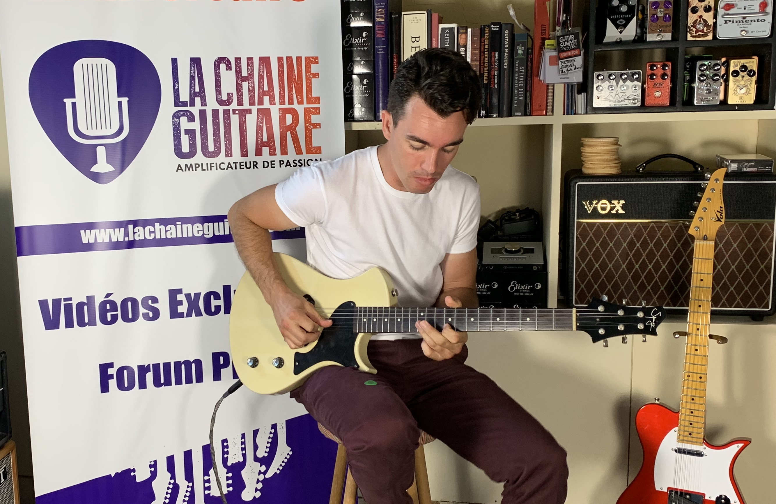 Interview Nico Chona, guitariste et batteur pro et youtubeur sur Tone Factory