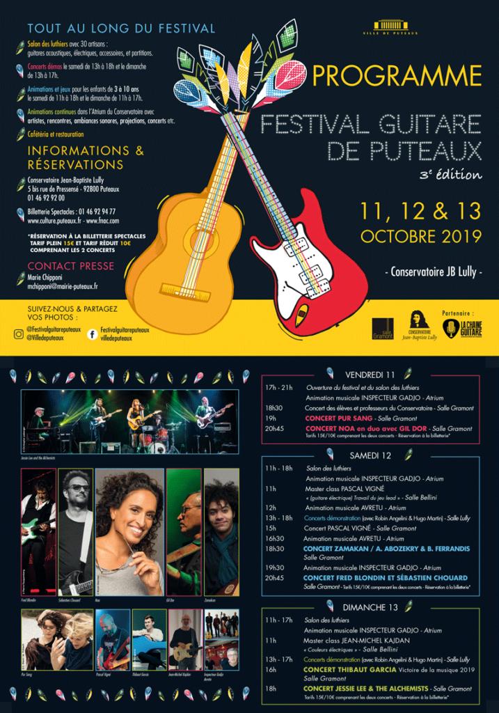Festival Guitare de Puteaux 2019 - Honneur aux femmes !