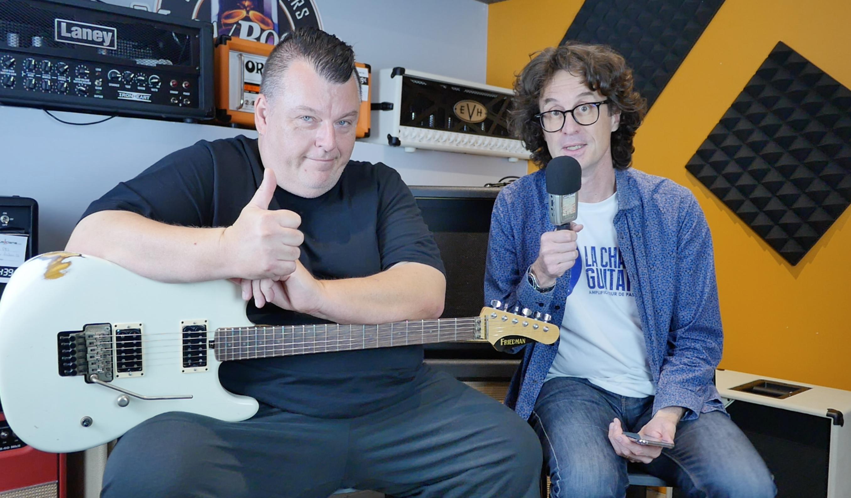 Interview Dave Friedman, grand manitou des amplis à lampes et aussi des guitares et pédales !