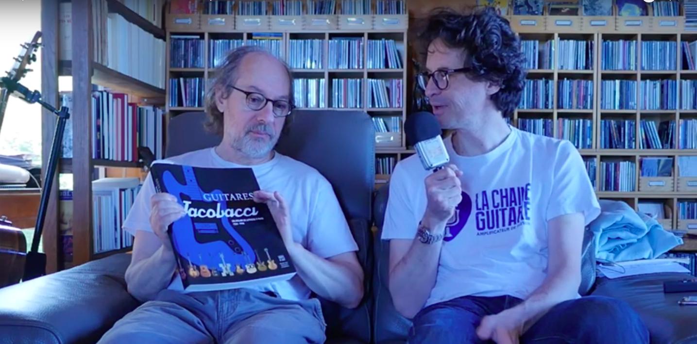 L'histoire des guitares Jacobacci au travers du regard du luthier Franck Cheval
