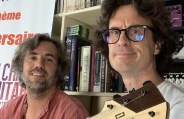 Interview luthier Laurent Letourneau au showroom