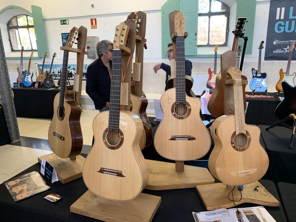 Interview luthier Bernard Leclercq - Madrid Luthier Guitar Show 2019