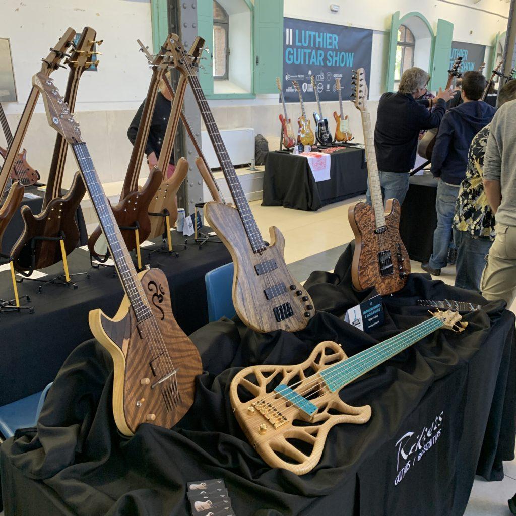 Interview luthier Jacco Stuitje de Rikkers Guitars - Madrid Luthier Guitar Show 2019