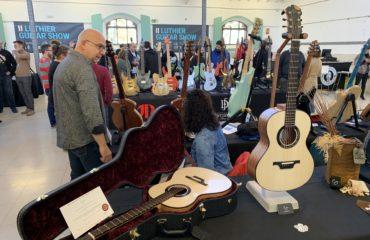 Interview Luis Guerrero, guitare acoustique haut de gamme - Luthier Guitar Show Madrid 2019