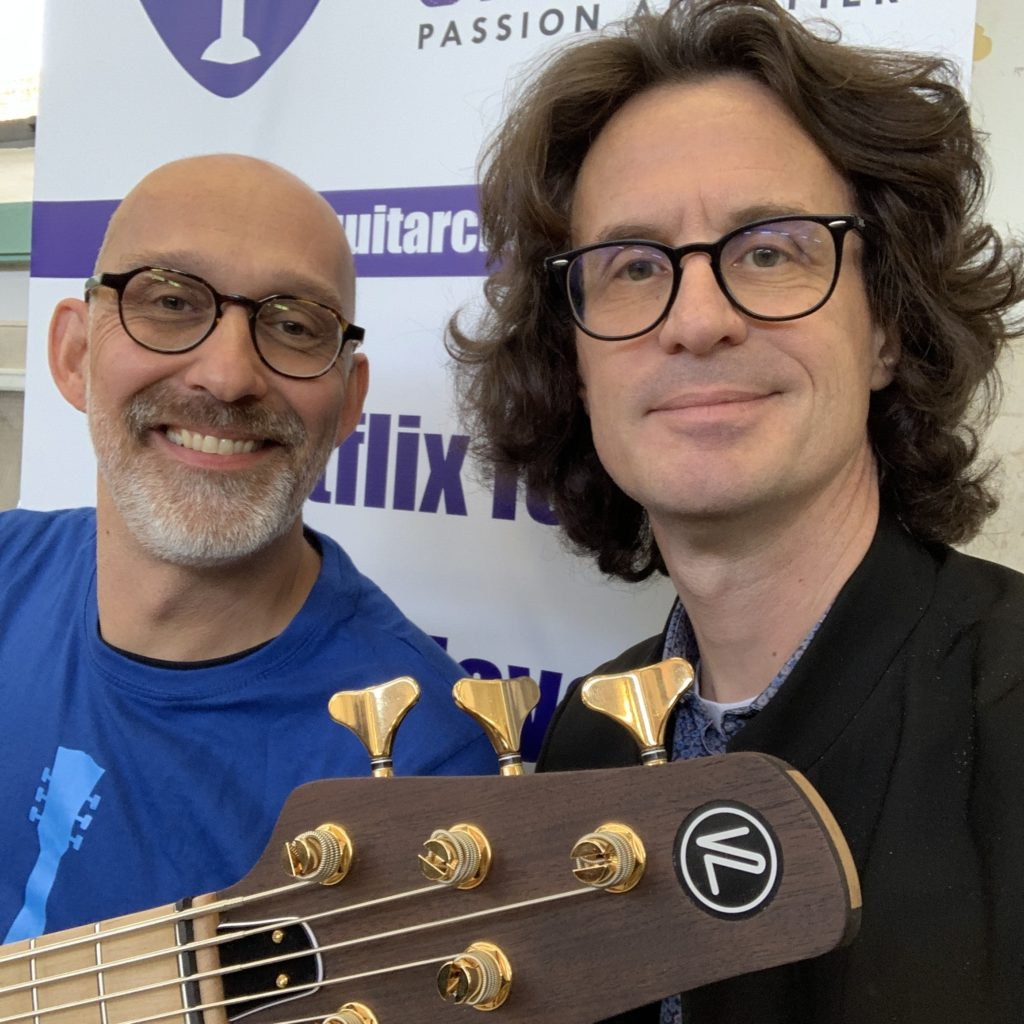Interview luthier Jean-Marc Van Loo – Madrid Luthier Guitar Show 2019