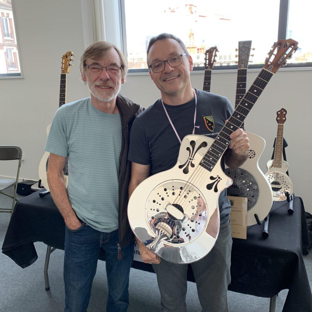 Mike Lewis et Jean-Marc Tizon au Festival Guitare de Puteaux 2019