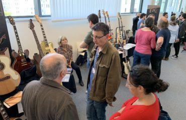 7 studios d'essais : à nouveau le gros point fort du salon des luthiers de Puteaux