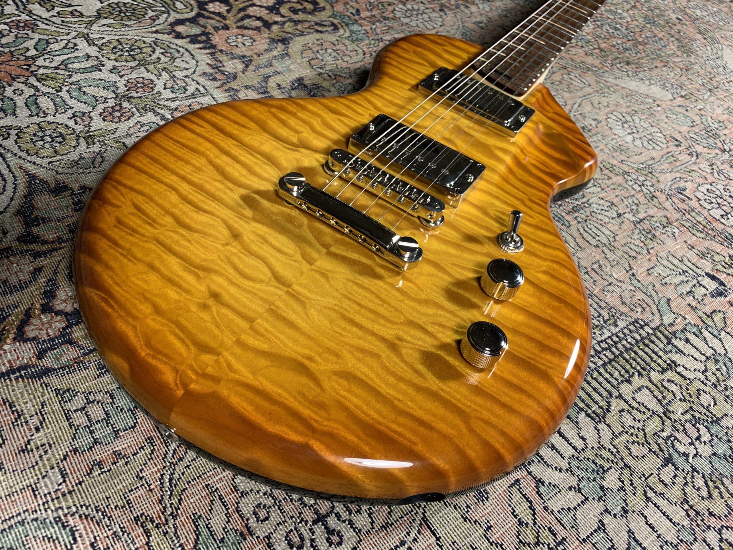 Fastback Alquier Hollow - Une superbe guitare de luthier sous toutes les coutures
