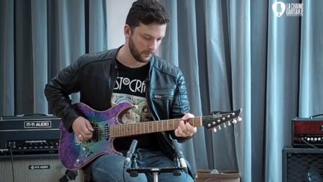 Vola Guitar / Ampli IT-11 Audio / Pédales Anasounds - Musicien : Saturax
