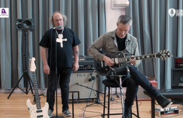 Puteaux 2019 - Guitares Roger Daguet / Ampli IT-11 Audio - Musicien : Hugo Martin