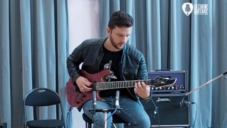 Puteaux 2019 - Guitares Vola / Ampli Jegou / Pédales Doc Music Station - Musicien : Saturax