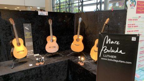 Interview luthier Marc Boluda - Coup de Projo salon des luthiers Issoudun 2019