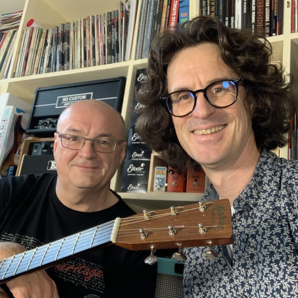 Jacques Stotzem et Pierre Journel - Showroom de La Chaîne Guitare