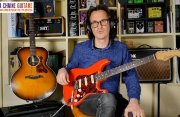 Une belle italienne de Handyman Custom Guitars - Replay live 29/11/19