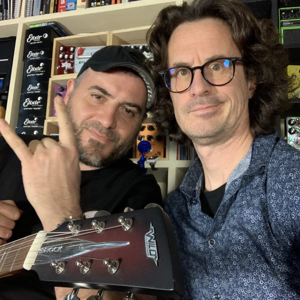 Interview Richard Daudé, le shredder fou de Guitare Academy Nîmes