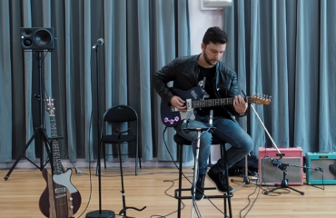 Puteaux 2019 - Guitares Maja / Ampli Little Big Amp / Pédales Anasounds - Musicien : Saturax