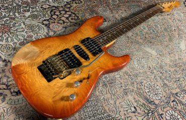 Super Strat Hugh Manson des années 90 - Test Guitare de Luthier