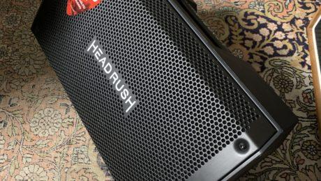 Headrush FRFR-108 - Unboxing et test baffle amplifié : 2 kilowatt de son !